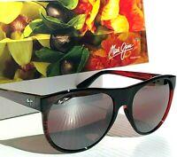 NEW* Maui Jim RISING SUN Burgundy POLARIZED ROSE Lens Womens Sunglass R731-07C