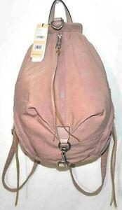 Rebecca Minkoff Julian Nylon Backpack, Vintage Pink $148