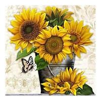 Sunflower 5D DIY Full Drill Diamond Painting Embroidery Kits Cross Stitch Decor