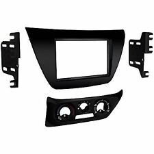 Metra 95-7017b Black Double Din Stereo Dash Kit 2002-2007 Mitsubishi Lancer New