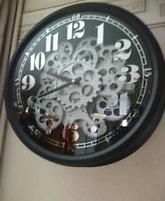 A Superb Skeleton Wall Clock with automation