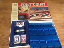 COUNTDOWN Vintage Classic Family Board Game 1987 Word Numbers Channel 4 MB Games