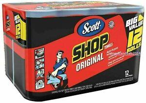 New Scott Shop Towels (12 rolls) - Freeshipping