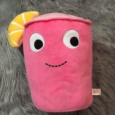 Kidrobot Yummy World Large Pink Lemonade Plush Toys Plushies Funny
