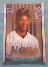1997 Donruss Studio Silver Press Proof #116 Moises Alou Miami Marlins Card