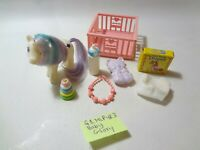 Vintage MLP G-1 My Little Pony ~ BABY GLORY w/ Accessories Lot!