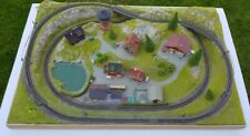 More details for complete spur z scale two tracks.  add controllers & trains *reduced*