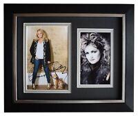 Bonnie Tyler Signed 10x8 Framed Autograph Photo Display Music Memorabilia COA