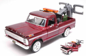 Model Car Scale 1:24 diecast Ford F100 Pick Up Wrecker vehicles Jeep