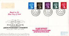 1990 Penny Black - RM - Fleet Street CDS