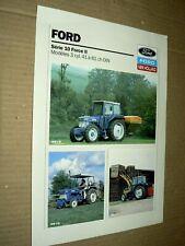 Prospectus Tracteur FORD NEW HOLLAND S10F2 (3) Tractor Traktor Prospekt Brochure