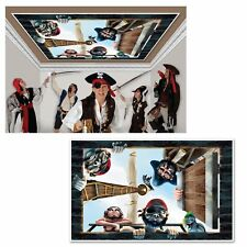 Pirate Ceiling Caribbean Theme Birthday Party InstaView Wall Decoration