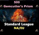 500 Gemcutter's Prism - STANDARD STANDART League Path of Exile POE SC GCP
