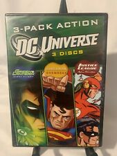 Dc Universe: 3-Pack Action Green Lantern/Superman Doomsday/Justice League Dvd