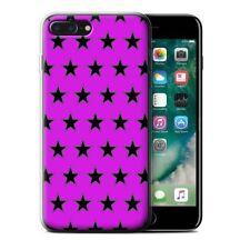 Étuis, housses et coques violets iPhone 7 en silicone, caoutchouc, gel pour téléphone mobile et assistant personnel (PDA)