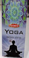 Tridev YOGA Fragrance Incense Sticks Agarbatti 6 Boxes ( 20  GM EACH)