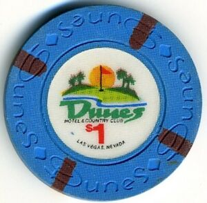 Dunes Casino $1 Chip, Las Vegas, NV F3683