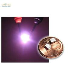 50 pièces smd LED pink plcc - 2 3528, rose LED plcc 2, purple roze rose smt smds