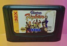 Virtua Fighter - Sega 32X Genesis Sega Rare Tested Working Rare Game