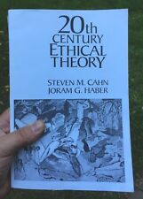 20th Century Ethical History, Paperback, 1995 Cahn Haber