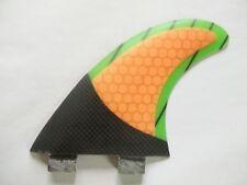 Tri Set Thruster Surfboard Fins / FCS G5 Fins/Honeycomb carbon surf fins size M
