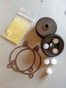 88-96 Corvette Headlight Motor Repair Kit HD Aluminum Gear 2X / NOT heavy Brass