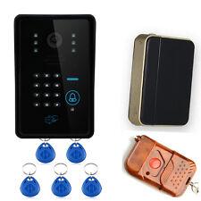 ENNIO Touch Key WiFi DoorBell Wireless Video Door Phone Home Intercom System