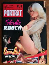 Sibylle Rauch Magazin Zeitschrift Porträt No.8 Erotik Männermagazin Bildband