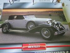 Dream Cars England 1 Bentley 8 Litre 1931