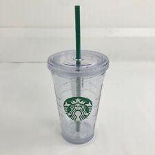 Starbucks Clear Acrylic Cold Cup Grande Tumbler 473ml 16oz Brand New