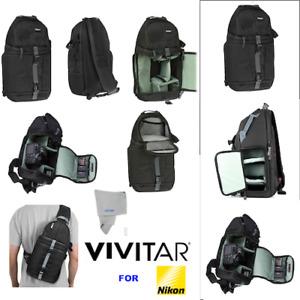 VIVITAR CAMERA SLING BACKPACK FOR NIKOND D3000 D3100 D3200 D3400 D5000 D5600 D90