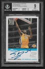 SHAQUILLE BGS 9 MINT TOPPS HERITAGE BEAUTIFUL AUTOGRAPH SHAQ ONEAL