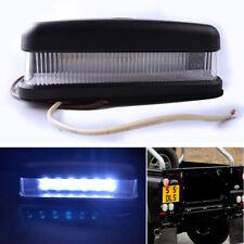 Black Rear Number Plate Lamp Light for Land Rover Defender SVX