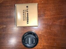 YONGNUO YN50MM f/1.8 Auto Focus Standard Lens for Canon EF