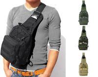 Men Backpack Tactical Sling Bag Chest Shoulder Fanny Pack Cross Body Pouch Sport