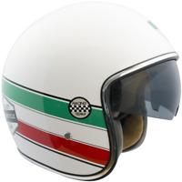 Casque Demi-Jet Open Face CGM 133I ITALIE Bianco Moto Scooter Vespa Approuvé