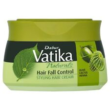 Dabur Vatika Olive Cactus Henna Hair Fall Control Styling Cream 140 Ml