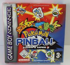 Game Boy Advance Pokemon Pinball - Rubin & Saphir OVP - NEU NEW