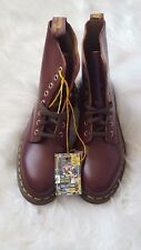 NEW Doc Dr Martens Pascal Leather Oxblood Cherry Boots Women's US Size 9 / EU:8