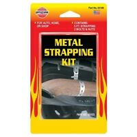 """VersaChem Exhaust Metal Strapping Kit Supports back box middle pipe hanger 24"""""""
