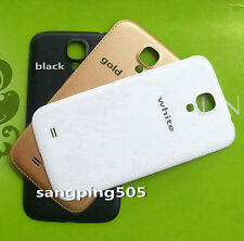 E- Samsung Galaxy S3 S4 Mini i9505 i9190 Faux Leather Battery Back Cover Door