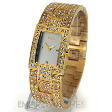 *NEW* DOLCE & GABBANA LADIES D&G CEST CHIC GOLD WATCH - DW0007 - RRP £235