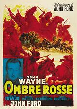 Stagecoach (1939) John Wayne Claire Trevor movie poster print 4