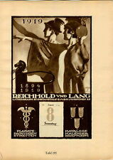 1926 Ludwig Hohlwein Poster Print Otto Madlener Reichhold Und Lang