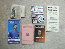 fixture card portsmouth 2000/1 club call issue