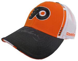 Eric Lindros Autographed Philadelphia Flyers NHL Reebok Hat - Panini (2)