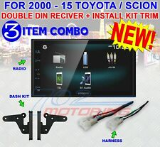 FOR TOYOTA & SCION BLUETOOTH USB CAR RADIO STEREO PKG. OPTIONAL REAR CAM KENWOOD