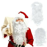 Santa Claus Wig + Beard Set Costume Accessory Unisex Adult Christmas Fancy Skirt