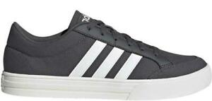 adidas VS Set EE7656 Mens Canvas Trainers Size 6_6.5_7_7.5_8 only CLEARANCE