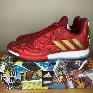 NEW Adidas x Harden Vol. 3 'Heroes Among Us' Iron Man Shoes Men's 11.5 EF2397